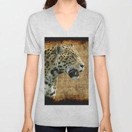 Wild Jaguar Unisex V-Neck