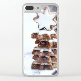 Christmas bakery Clear iPhone Case