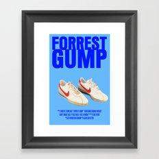 Forrest Gump Movie Poster Framed Art Print