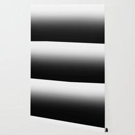Black & White Ombre Gradient Wallpaper