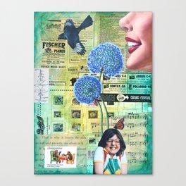 Come To Your Senses Canvas Print