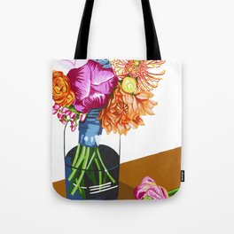 Summer Blossoms Tote Bag
