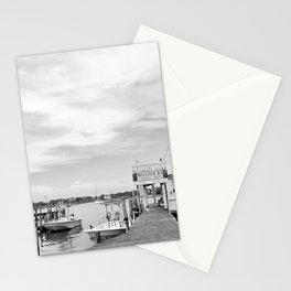Ocracoke Island Docks North Carolina Stationery Cards
