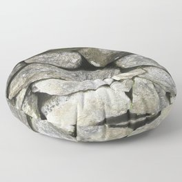 Stone wall Floor Pillow