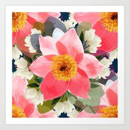 Flower Mad Art Print