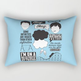The Fault In Our Stars Collage Rectangular Pillow