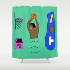 SLAM DUNK  Shower Curtain
