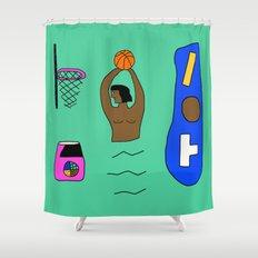 SLAM DUNK  Shower Curtain