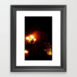 Night Crest 3 Framed Art Print