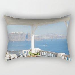 Santorini IX Rectangular Pillow