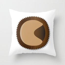 Chocolate Box Moon Shape Throw Pillow