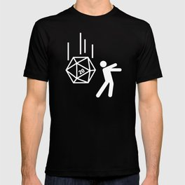 DnD Funny D20 Dice Meme Dungeons and Dragons T-shirt
