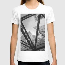 London City Girders and Tall Finance Buildings T-shirt