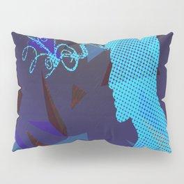 blue sorrow Pillow Sham