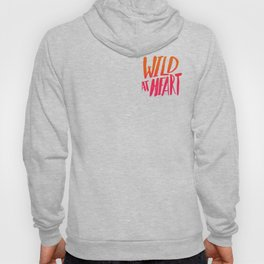 Wild At Heart x Typography Flame Ombre Hoody