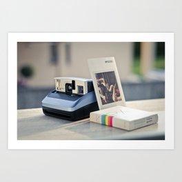 Never Ending Polaroid Art Print
