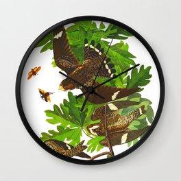 Night Hawk Wall Clock