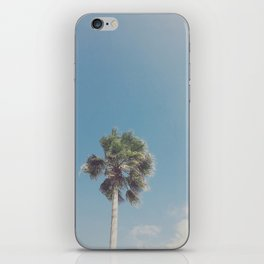 Lone Palm iPhone Skin
