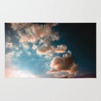 heaven Area & Throw Rugs featuring Heaven by Sofia_Katsikadi