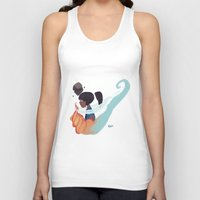 the legend of korra Tank Tops featuring Korra by kdotjay
