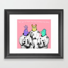 Never the Same Framed Art Print
