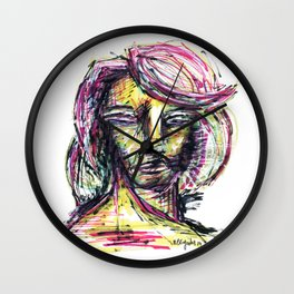 Rostro Wall Clock
