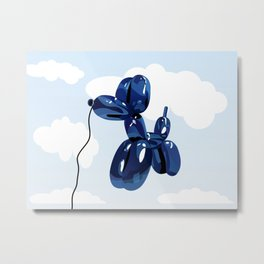 Balloon dog Metal Print