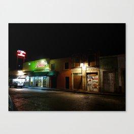 Morelia at Night Canvas Print