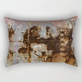 Grunge Steel Rectangular Pillow