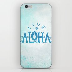 Live Aloha iPhone & iPod Skin