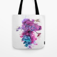 Hummingbirds Ink Tote Bag