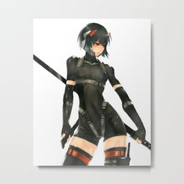 Spider robot of Ghost in the Shell Metal Print