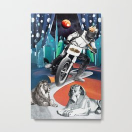 Divination Tarot: Chariot Metal Print