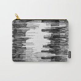 Polyline Distortion Carry-All Pouch