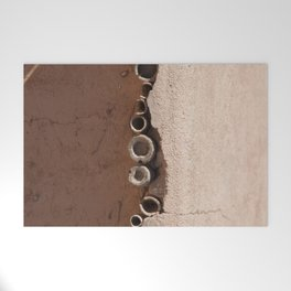 rotated rustic roof Welcome Mat