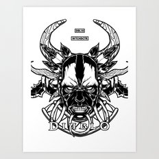 Diablo III. Witch Doctor Art Print