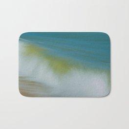 Waves Abstract Coastal / Nature Photograph Bath Mat
