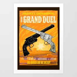 The Grand Duel Art Print