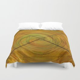 Right On Target, A Little Off Course Duvet Cover