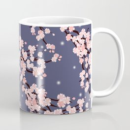 Sakura in night. Coffee Mug
