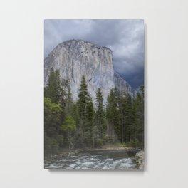 Yosemite National Park, El Capitan, Yosemite Photography, Yosemite Wall Art Metal Print
