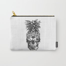 Pineapple Skull Head Carry-All Pouch