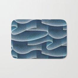 Aurora Borealis_Sky Blue Lights Bath Mat