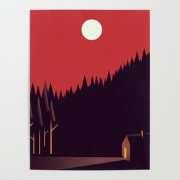 A Cabin in the Wood Poster