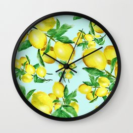 lemon 2 Wall Clock