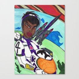 Space Explorer Canvas Print