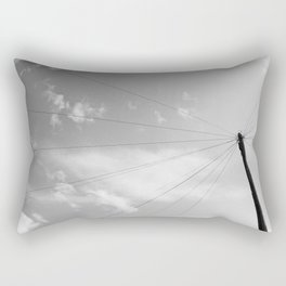 Power Pole Rectangular Pillow