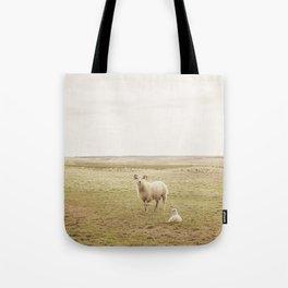 Farm Photography of Sheep Tote Bag