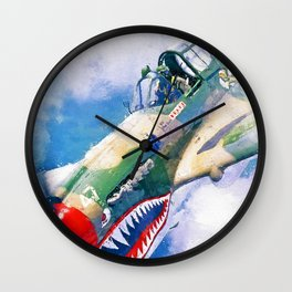 Curtis P-40 Wall Clock