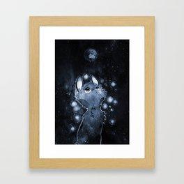 9 Hearts Framed Art Print